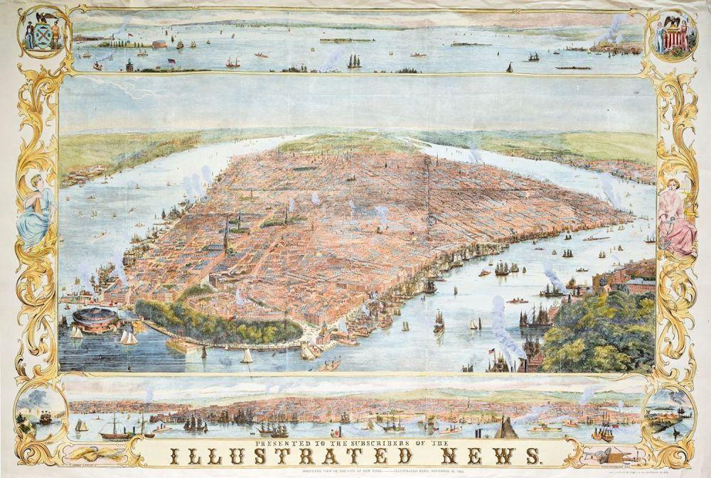 "Пазл Piatnik ""Карта Нью-Йорка 1853 год"" 1000 деталей ...: http://hobby-puzzle.ru/pazl-piatnik-karta-nju-jorka-1853-god-1000-detalej.html"