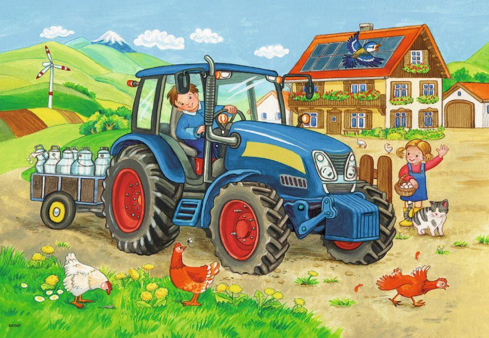 картинки для малышей трактор найдете развитой