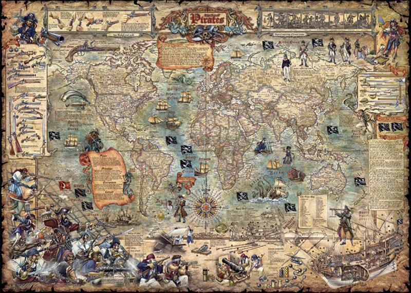 Большая карта сокровищ
