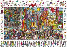 "Пазл Ravensburger ""Таймс Сквер"" James Rizzi 1000 деталей"